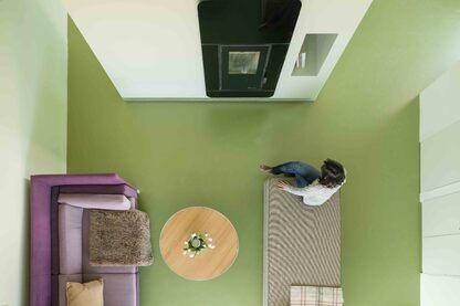 Interior design works: six suites in rural hotel complex