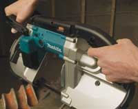 The curved rear grip and large front handle make Makita the most comfortable to use.