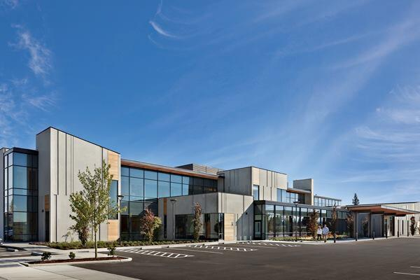 The Everett Clinic Smokey Point Medical Center, Smokey Point, Wash., by ZGF Architects.