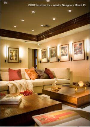 Photo courtesy DKOR Interiors Inc. - Interior Designers Miami, FL