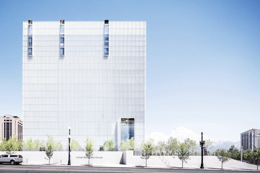 United States Courthouse, Salt Lake City, Utah.