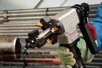 Portable welding end prep tool