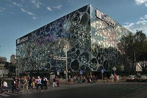 Liverpool Department Store–Insurgentes, Designed by Rojkind Arquitectos