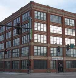 NuStyle Development overhauled Omaha's TipTop Building, formerly the Model T Ford Building.