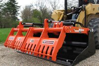 New Sweep Action Material Bucket from Worksaver
