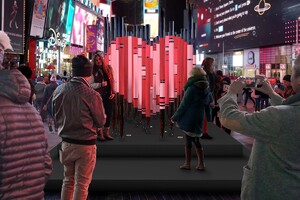 The Office for Creative Research Wins Times Square Valentine Heart Design Competition