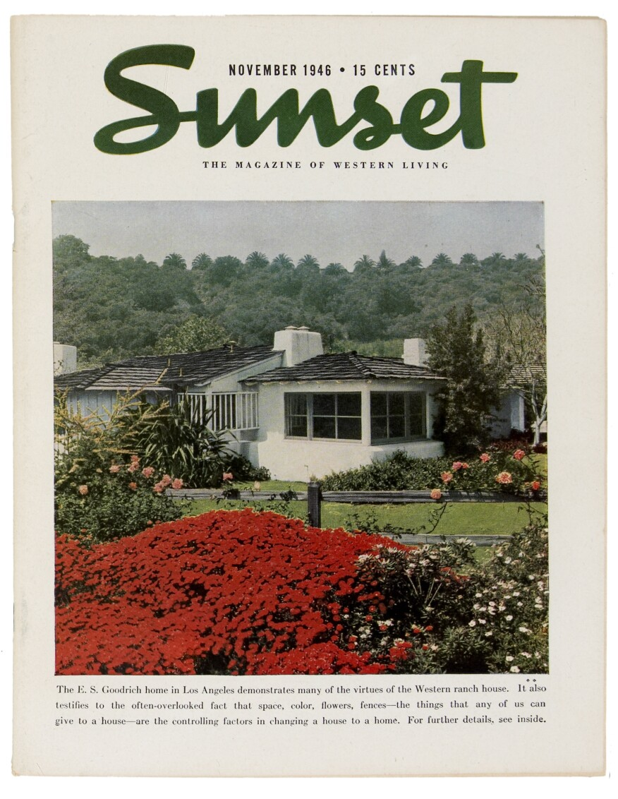 The passing of an era sunset magazine 39 s campus sold for Sunset magazine house plans