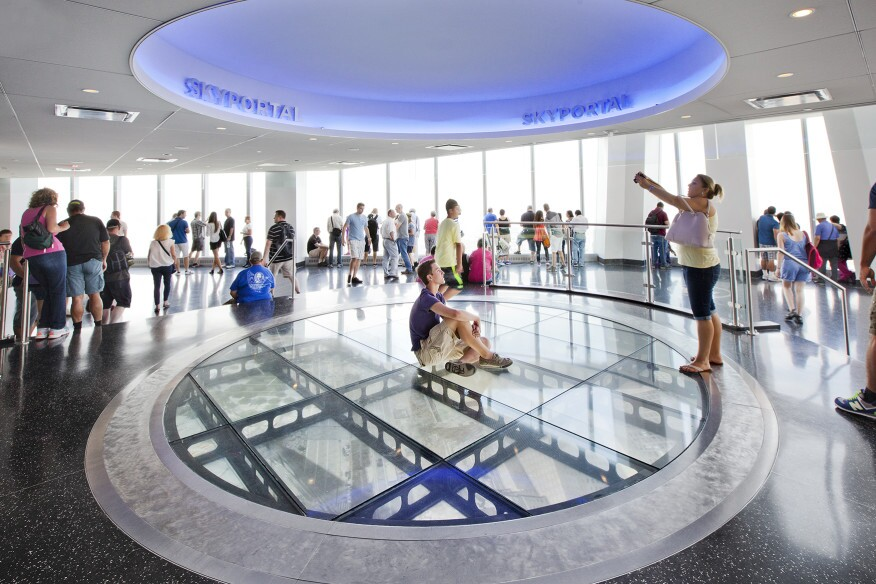 The Sky Portal in the One World Trade Center.