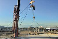 Flying and Extracting Column-Hung Forms