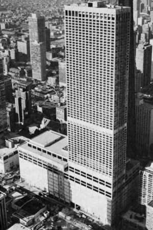 For more than 10 years following its 1975 construction, Water Tower Place was the world's tallest reinforced concrete building, using concrete of seven different strengths ranging from 3000- to 9000-psi.