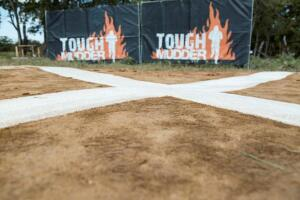"After being put through ""The World's Toughest Mudder,"" Mohawk cleaned a swatch of their carpet to demonstrate its durability."