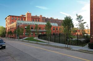 Designed by Bruner/Cott, the Blackstone South building at Harvard University unified a trip of brick buildings from a coal-fired electricity plant dating back to the 1890s into a LEED Platinum-certified home for the school's University Opersations Services.