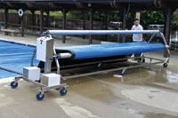 Automatic Pool Cover Rewinder from T-Star Enterprises