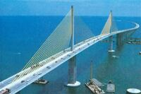 Sunshine Skyway Bridge, Tampa Bay, 1987