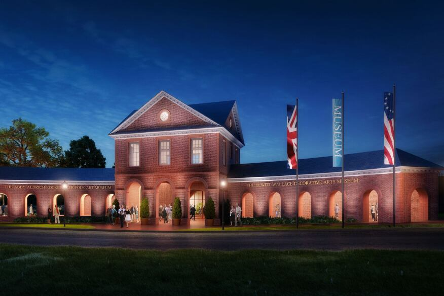 Colonial williamsburg to expand its art museums for Design hotel williamsburg