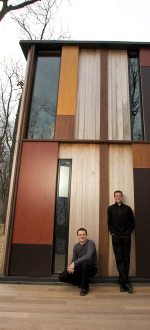 This year's Project of the Year, Camouflage House by Sebastian Schmaling and Brian Johnsen, stood out by fitting in.