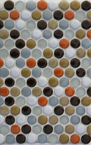Stardust Glass. These glass mosaic tiles are handcrafted from reject windows and doors from a local factory, bumping the recycled content to 97%. The tiles are kiln-fired, which reduces energy costs, says the company. Available in a variety of shapes and sizes, the products are made to order and come in 36 colors. 503.928.3076. www.stardustglasstile.com.