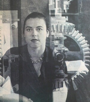 Jane Thompson, then Jane Fiske McCullough, from Charm magazine in 1957