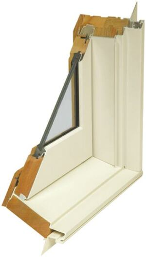 A Loewen window cut-away shows the heavy-duty laminated glass.