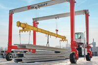 Shuttlelift + DB70 mobile gantry crane