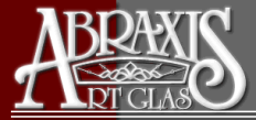 Abraxis Art Glass & Doors Logo