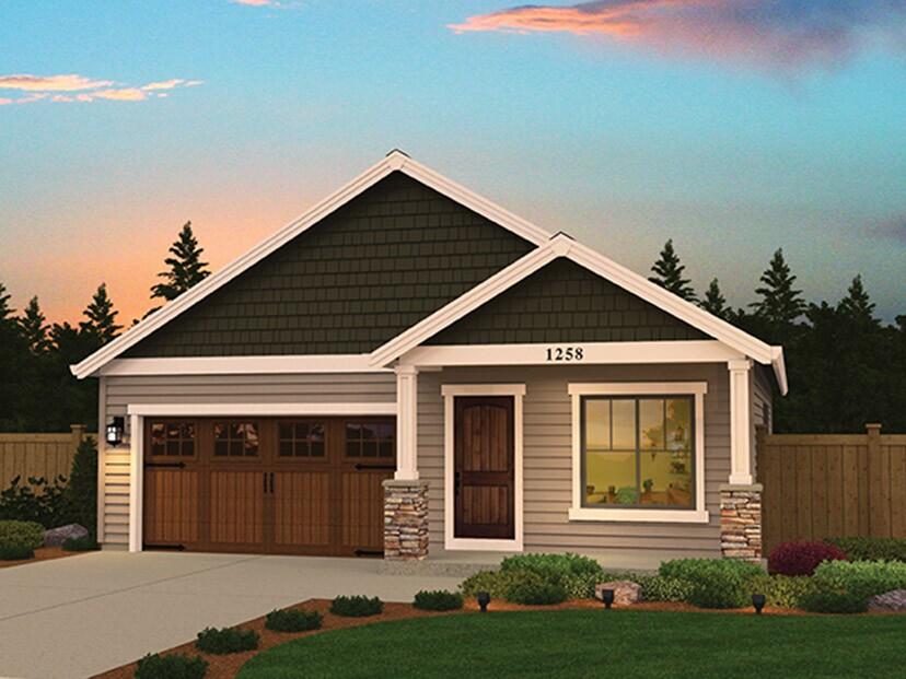 Standout starter home plans to entice first timers for Starter house plans