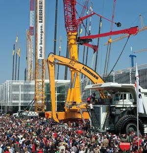 Despite the global economic recession and air travel restrictions, more than 415,000 visitors from 200 countries attended bauma 2010.