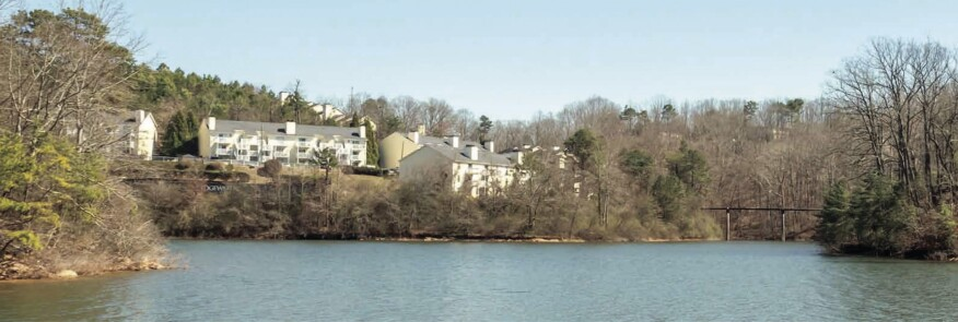 Edgewater on Lanier is planned to undergo a $2 million renovation to upgrade units and the amenity package to feature the Georgia lake. Photo provided by Griffin Fund.
