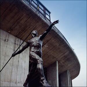 Tokyo Olympic Facilities, Metropolitan gymnasium for the 1964 Olympics.