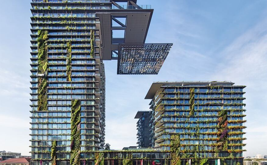 One Central Park, designed by Ateliers Jean Nouvel, in Sydney.