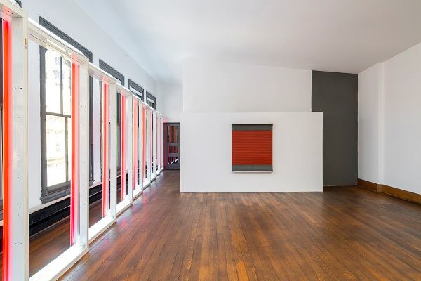 101 Spring Street, fifth floor. 2013. Art by Dan Flavin, Donald Judd.