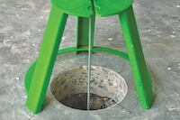 Filling Holes in Concrete