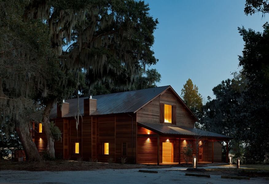 Meeting Barn, Dixie Plantation, College of Charleston, Charleston, S.C., by Institutional Architecture
