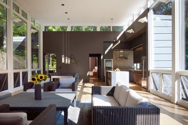 Woodland Dune Home, by Kuklinski + Rappe Architects.