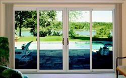 The trend in patio doors is toward expanded views and access to the outdoors.