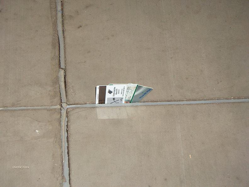 Filling Control Joints In Concrete Slabs Concrete