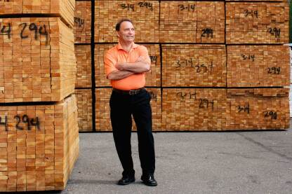 Gary Powell, president of Matheus Lumber, Bellevue, Wash.