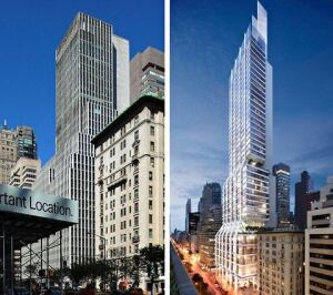 Foster & Partners' proposed design for 425 Park Avenue