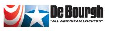 DeBourgh All American Lockers Logo