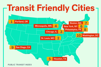 Driving or Public Transit: Which Cities Offer the Best Commute?