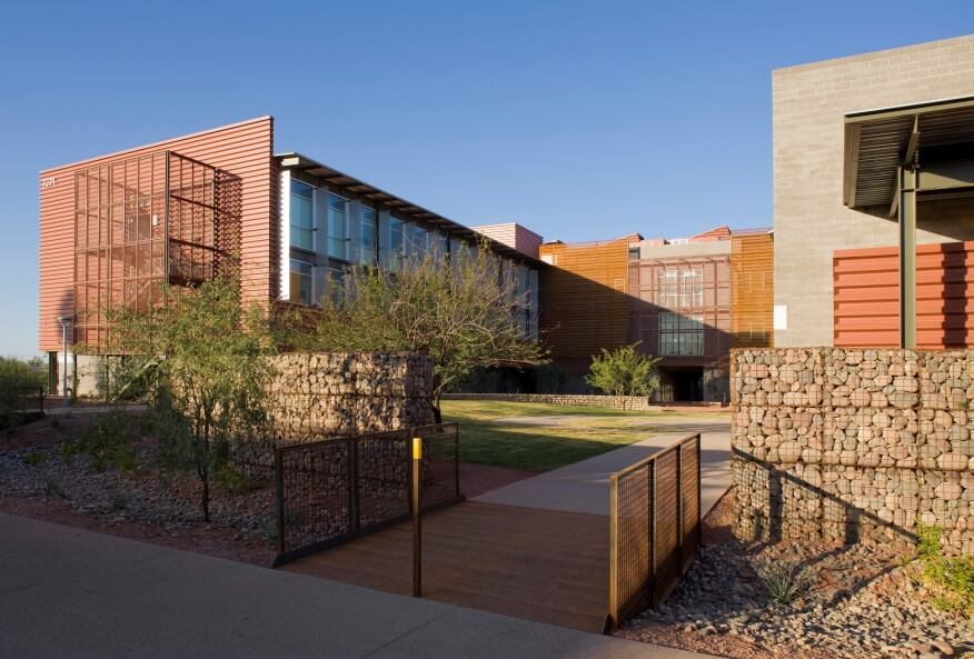 2012 AIA COTE Top Ten Green Project ASU Polytechnic Academic District.