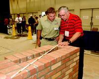 Doug Drye's students are regular participants at the national SkillsUSA masonry  competition.