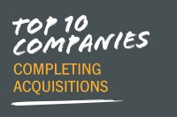 Top 10 Companies Completing Acquisitions in 2016