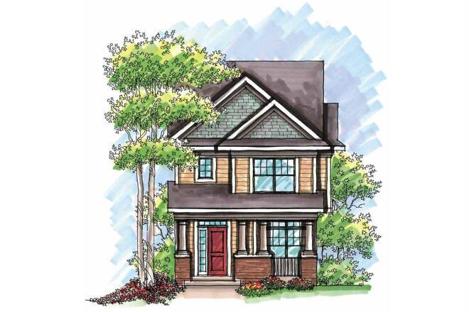 FourPlans: Ultra-Narrow House Plans
