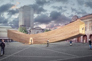 The Smile by Alison Brooks Architects Gives CLT a Boost