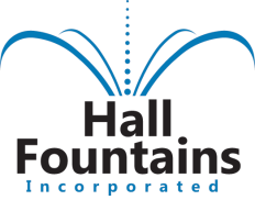 Hall Fountains Logo