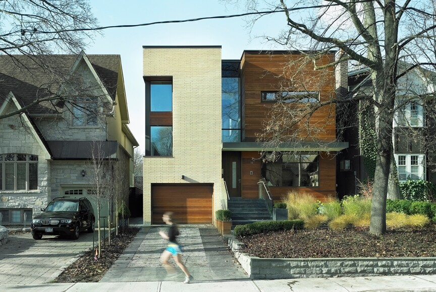 house architects split house architect magazine superkl midtown toronto on