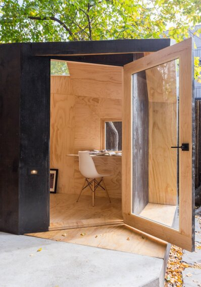 A Tiny Writer's Studio Provides a Creative Refuge