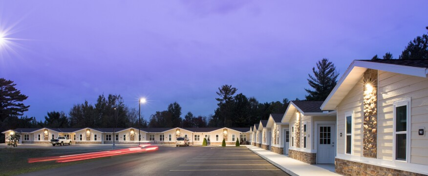 The Sokaogon Chippewa Housing Authority has transformed an old motel into affordable housing in Wisconsin.