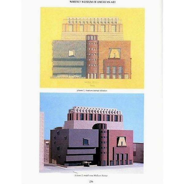 Michael Graves's late-1980s expansion proposal for the Whitney.
